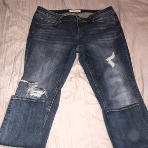 Ripped Maurices Skinny Jeans